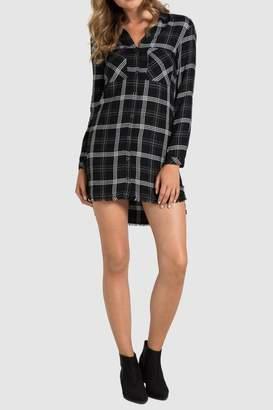 Bella Dahl Fray Hem Shirtdress
