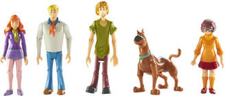 Scooby-Doo 5 Inch Mystery Crew 5 Figure Pack