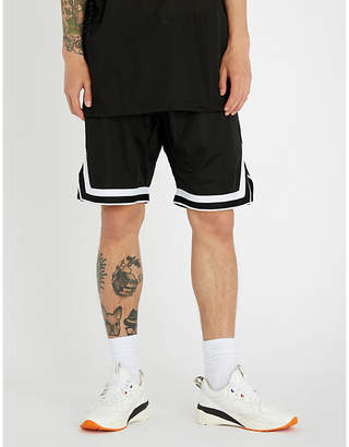Hera Relaxed-fit mesh shorts