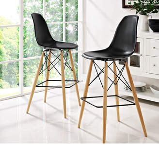 "Modway Pyramid 29.5"" Bar Stool Seat"