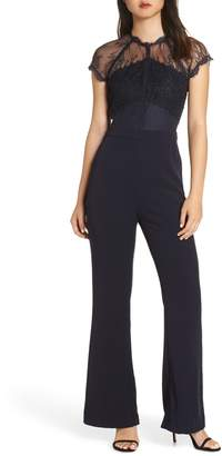 Harlyn Lace Illusion Top Jumpsuit