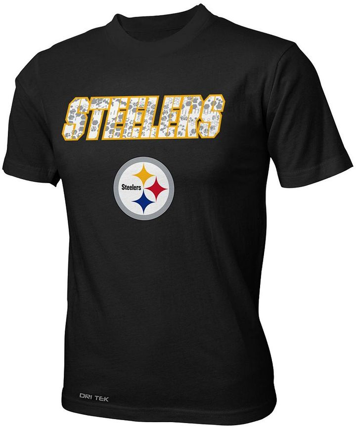 Camo Pittsburgh steelers dri-tek name tee - boys 8-20