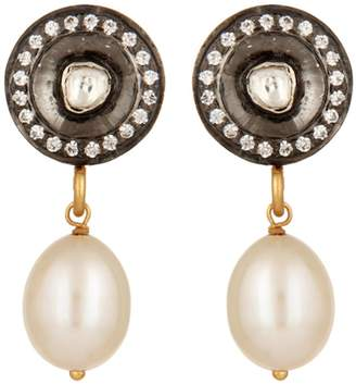 Crystal Pearl Carousel Jewels - Crystal & Pearl Drop Earrings