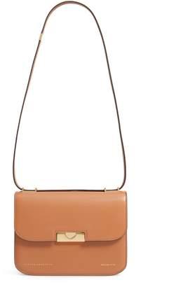 Victoria Beckham Eva Calfskin Leather Shoulder Bag