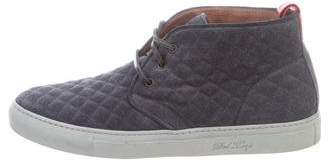 Del Toro Leather High-Top Sneakers