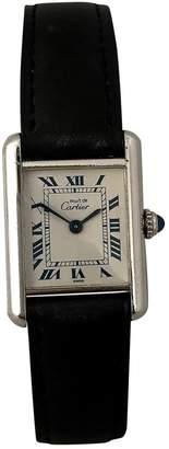 Cartier Tank Must silver watch