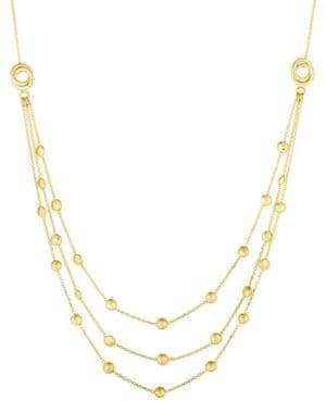 Saks Fifth Avenue 14K Yellow Gold Multi-Strand Chain Necklace