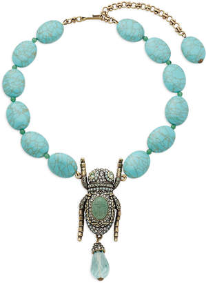 Heidi Daus Crystal Bug Necklace