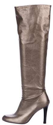 Stuart Weitzman Leather Over-The-Knee Boots