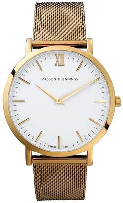 Larsson & Jennings Chain Metal Gold-plated Watch