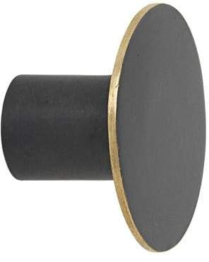 ferm LIVING Small Black Brass Hook