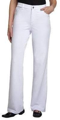 Denim & Co. Regular Comfy Knit Denim Boot-Cut Jeans
