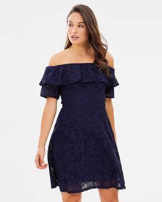 Dorothy Perkins Lace Bardot Pencil Dress
