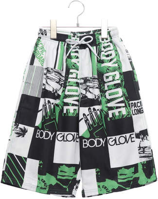 Body Glove (ボディー グローヴ) - ボディーグローヴ BODY GLOVE ジュニア マリン 水着 ブロック柄 男児 サーフパンツ X121-642
