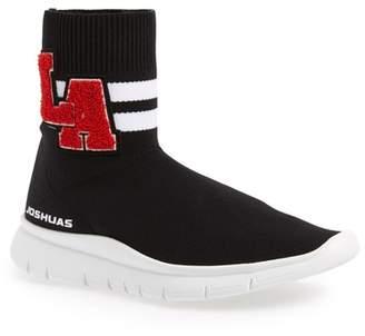 Joshua Sanders University High Top Sock Sneaker (Women)