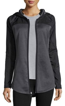 The North Face Spark Full-Zip Hoodie, TNF Dark Gray Heather $99 thestylecure.com