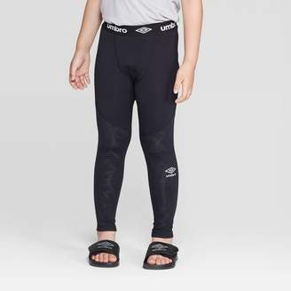 Umbro Boys' Compression Leggings - Black