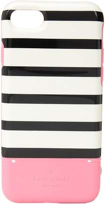 Kate Spade Stripe Credit Card Phone Case for iPhone