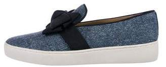 Michael Kors Denim Slip-On Sneakers