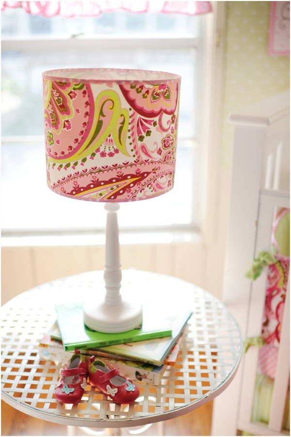 My Baby Sam Paisley Lamp - Pink/ Lime