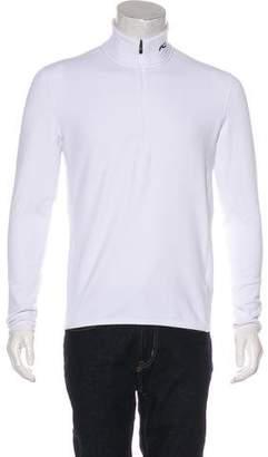 Kjus Mock Neck Half-Zip Sweater