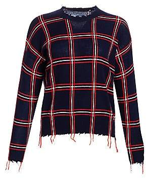 Scripted Women's Ethan Windowpane Plaid Shirt