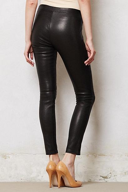 J Brand Leather Leggings