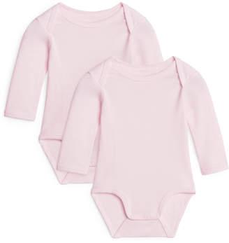 Arket Long-Sleeve Bodysuit, Set of 2