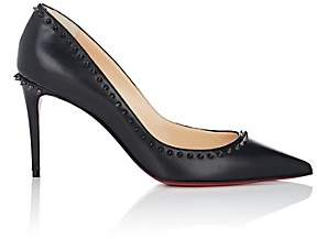 Christian Louboutin Women's Anjalina Leather Pumps-Black, Black gun
