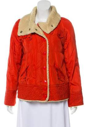 Marc by Marc Jacobs Marc Jacobs Faux Fur Quilted Jacket