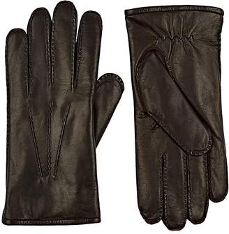 Barneys New York MEN'S FUR-LINED NAPPA LEATHER GLOVES