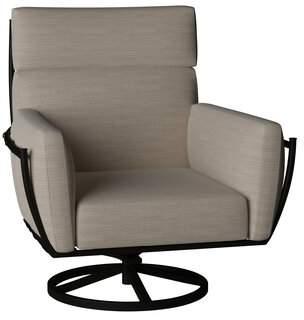 Summer Classics Majorca Swivel Rocking Chair with Cushion Summer Classics