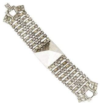 Tom Binns Noble Savage Crystal Stud Bracelet