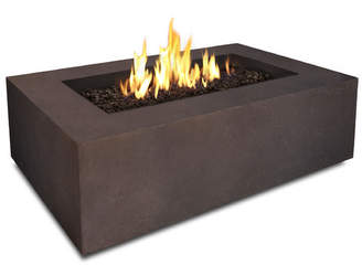 Real Flame Baltic Concrete Propane Fire Pit Table