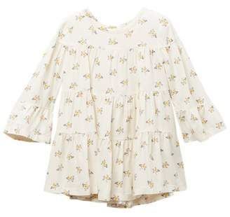 Harper Canyon Tiered Floral Print Woven Dress (Baby Girls)