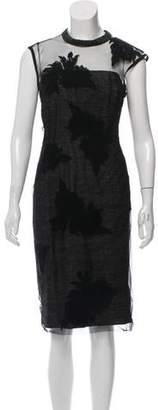 Philosophy di Alberta Ferretti Tweed Midi Dress