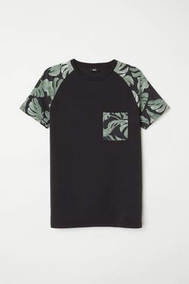H&M Muscle Fit T-shirt - Black