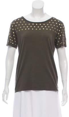 Joseph Grommet Scoop Neck T-Shirt