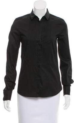Dolce & Gabbana Button-Up Long Sleeve Top w/ Tags