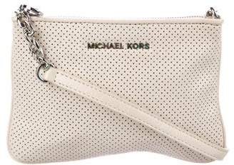 MICHAEL Michael Kors Perforated Leather Crossbody Bag