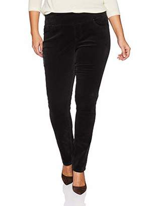Jag Jeans Women's Plus Size Peri Straight Pull On Corduroy Pant