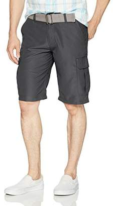 Burnside Men's Haze Solid Microfiber Cargo Short