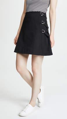 MAISON KITSUNÉ Eyelet Skirt
