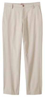 Merona Men's Ultimate Flat Front Pants - Oyster 34x30 $24.99 thestylecure.com
