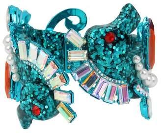 Betsey Johnson Seahorse Hinge Bracelet