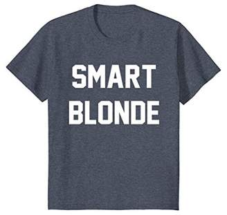 Smart Blonde Best Friends Funny Matching Gift T-Shirt