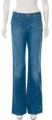 See by Chloe Mid-Rise Wide-Leg Jeans w/ Tags