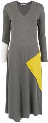 M·A·C Mara Mac panelled midi dress