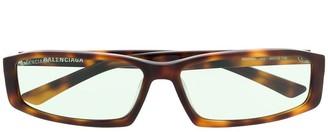 Balenciaga Eyewear Neo square sunglasses
