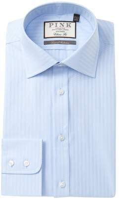 Thomas Pink Ackerman Textured Classic Fit Dress Shirt